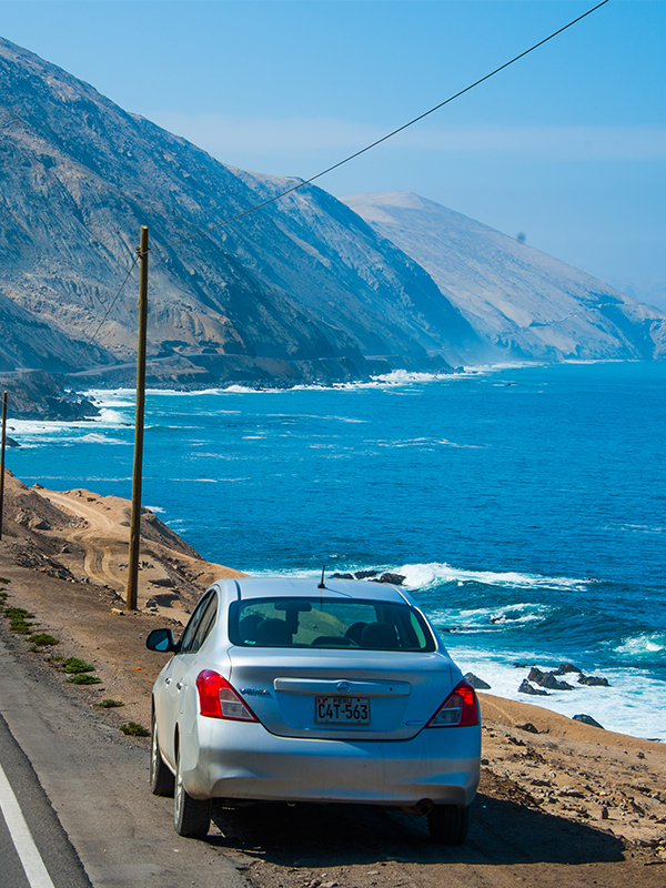 Nissan by the Pacific in Peru