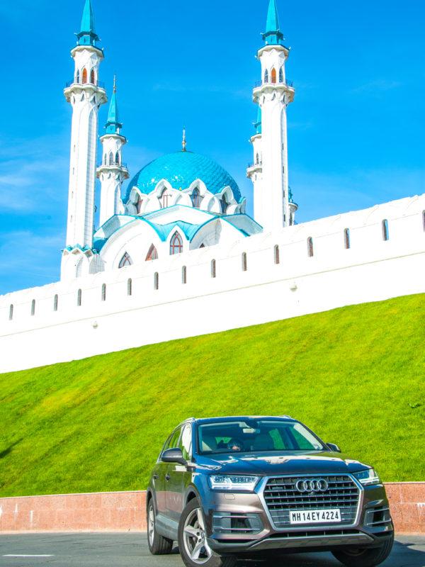 Qulshareif Mosque, Kazan, Russia